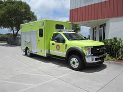 EVI 15-Ft. Non-Walk-In Rescue Truck