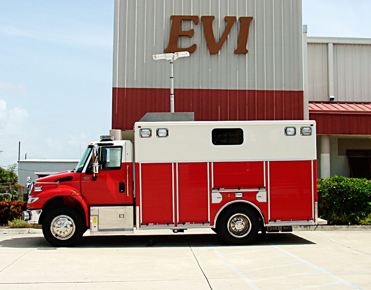 EVI Walk-In Canopy Rescue Truck