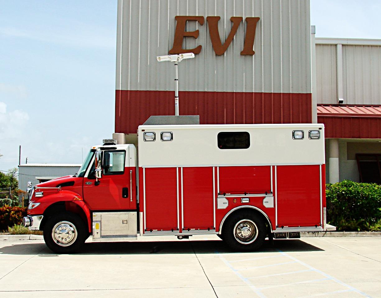 EVI Walk-In Canopy Rescue Truck