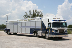 EVI Tractor Trailer Command Vehicle