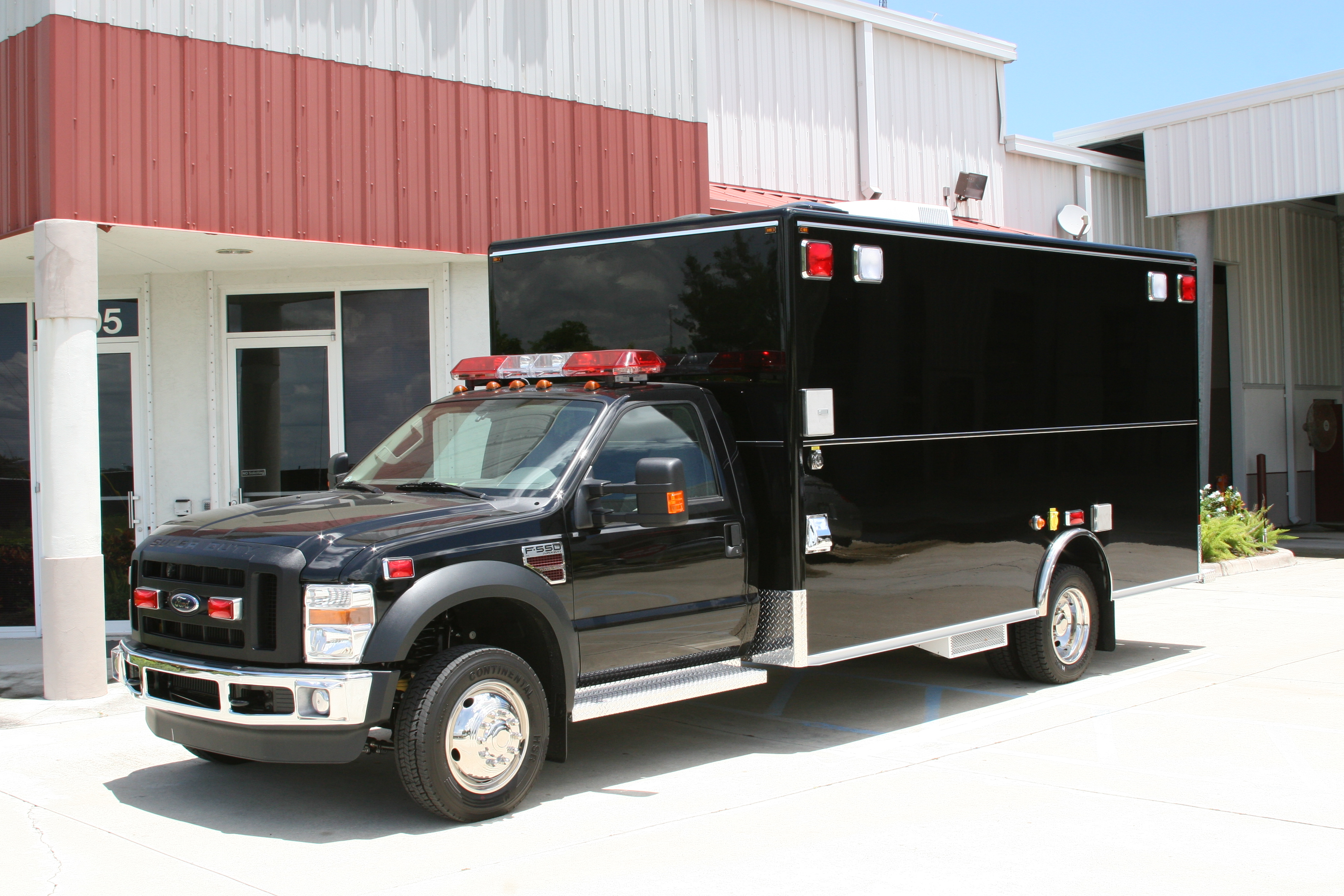 EVI DUI Mobile Processing Vehicle