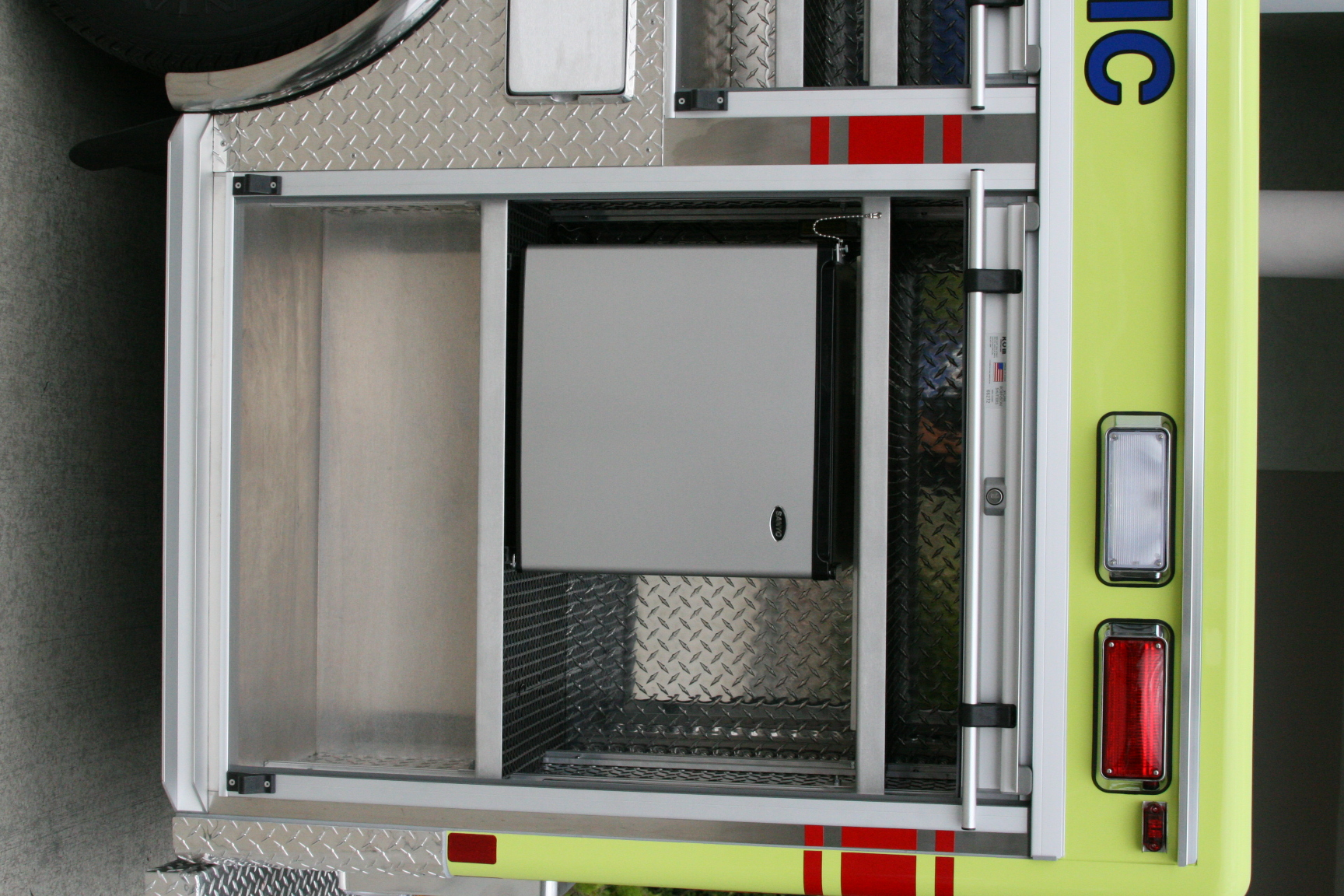 10-Ft. Non-Walk-In Fire Dept Support