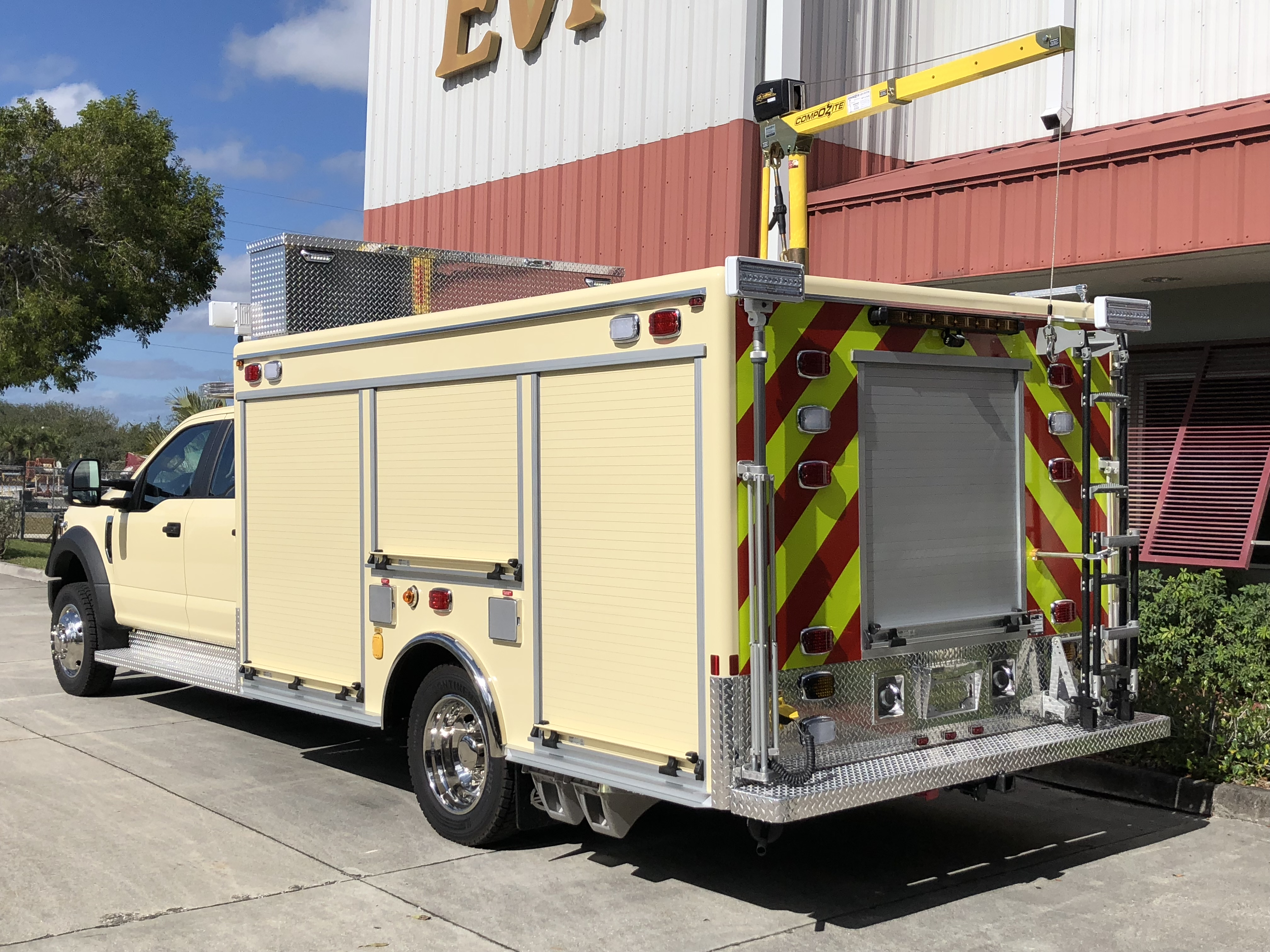 EVI 13 Ft Light Rescue Fire Truck