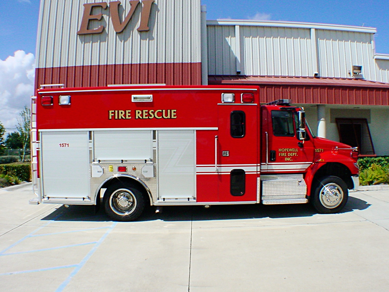 EVI 16-Ft. Crew Body Rescue Truck