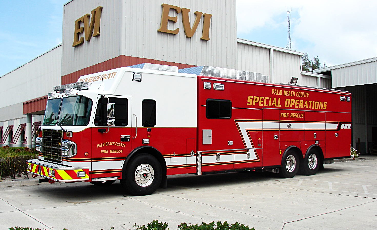 EVI 28-Ft Walk-In Special Operations