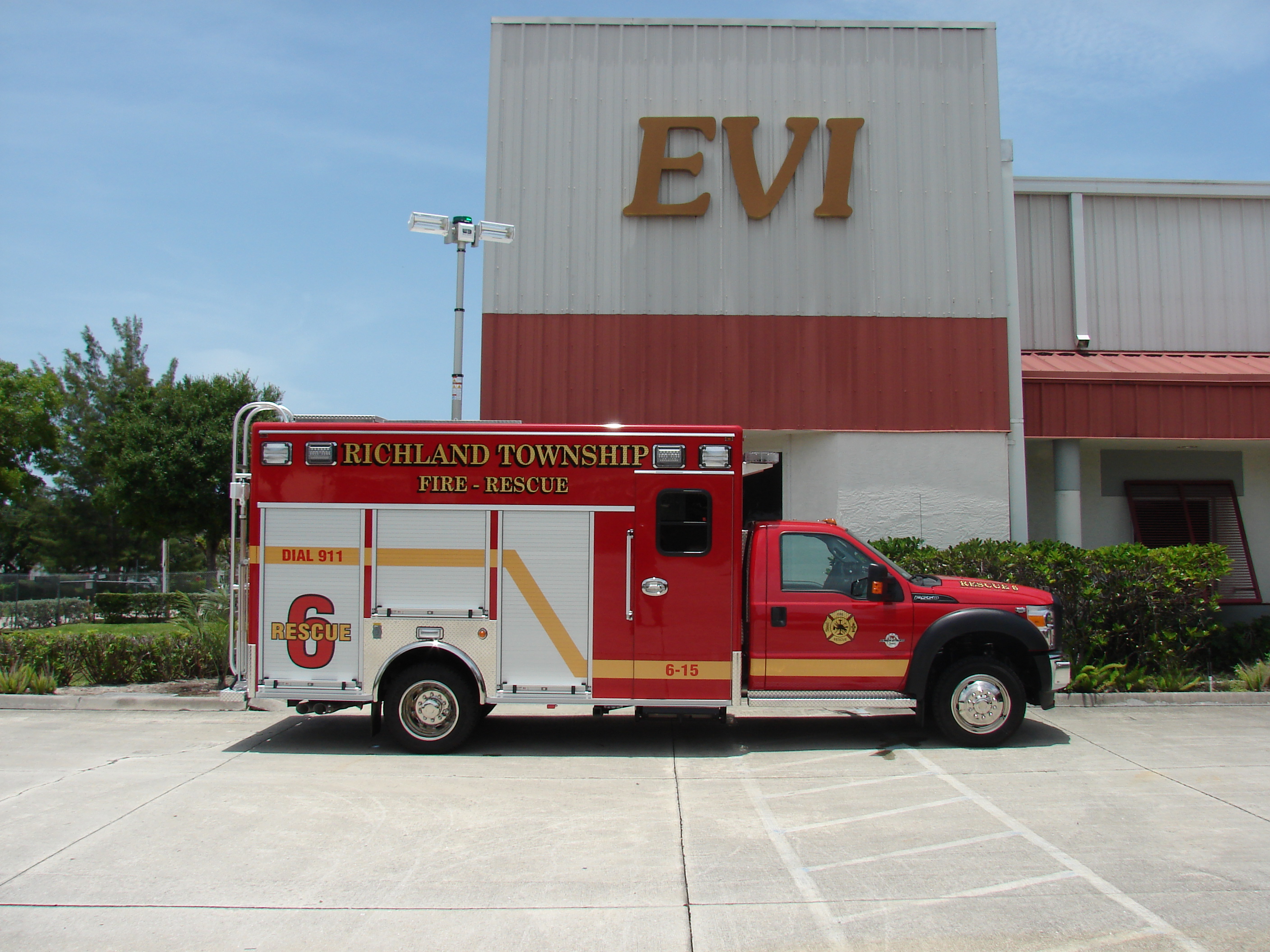 EVI 14-Ft. Crew Body Rescue Vehicle