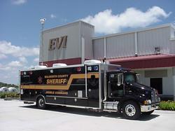 EVI custom Tactical Mobile Command