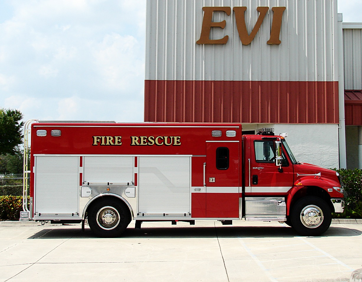 EVI Medium Crew Body Rescue Truck