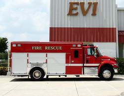 EVI Medium Crew Body Rescue Truck