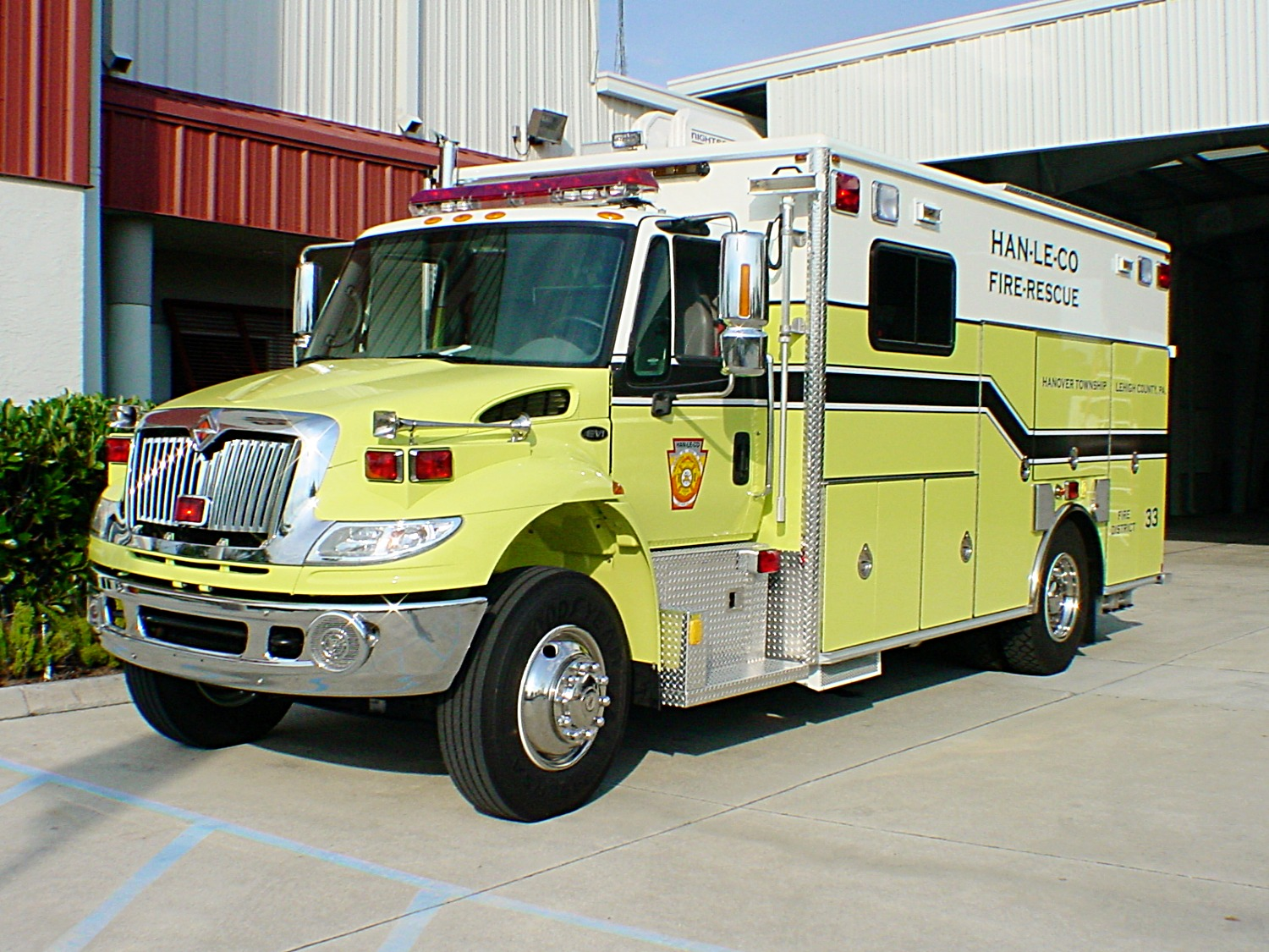 EVI 18-Ft. Crew Body Emergency Squad