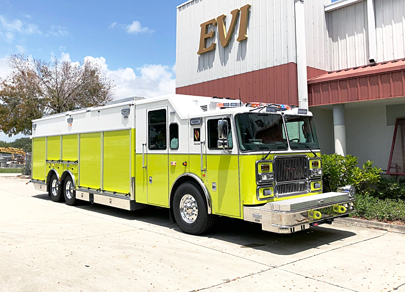 EVI 26 Ft EVI Heavy Rescue Truck