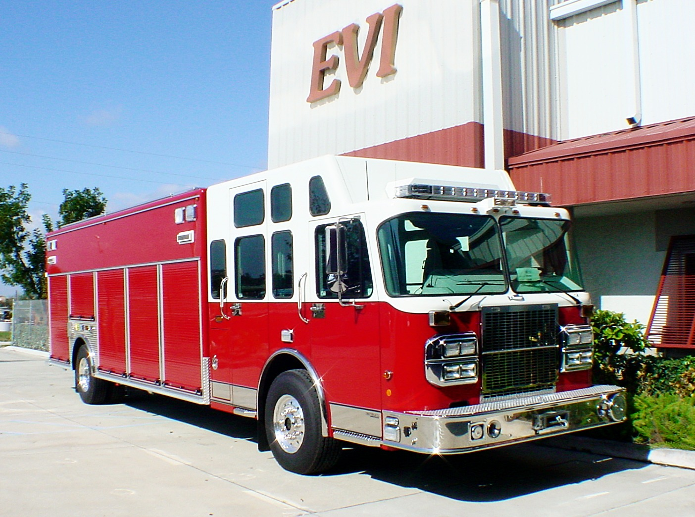 EVI Non-Walk-In Heavy Duty Rescue