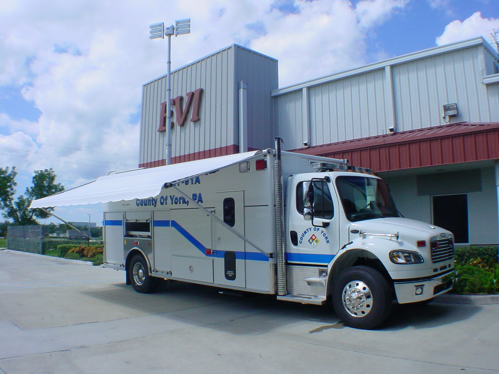EVI 22-Ft. Crew Body Rescue Truck