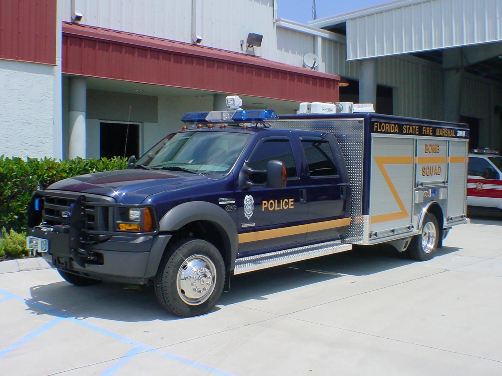 EVI 12-Ft EOD Response Truck