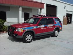 EVI Command Vehicle Conversion