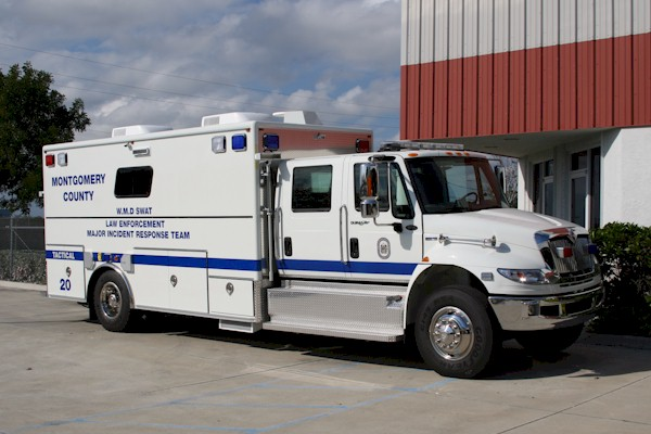 18-Ft. Walk-In Tactical Vehicle