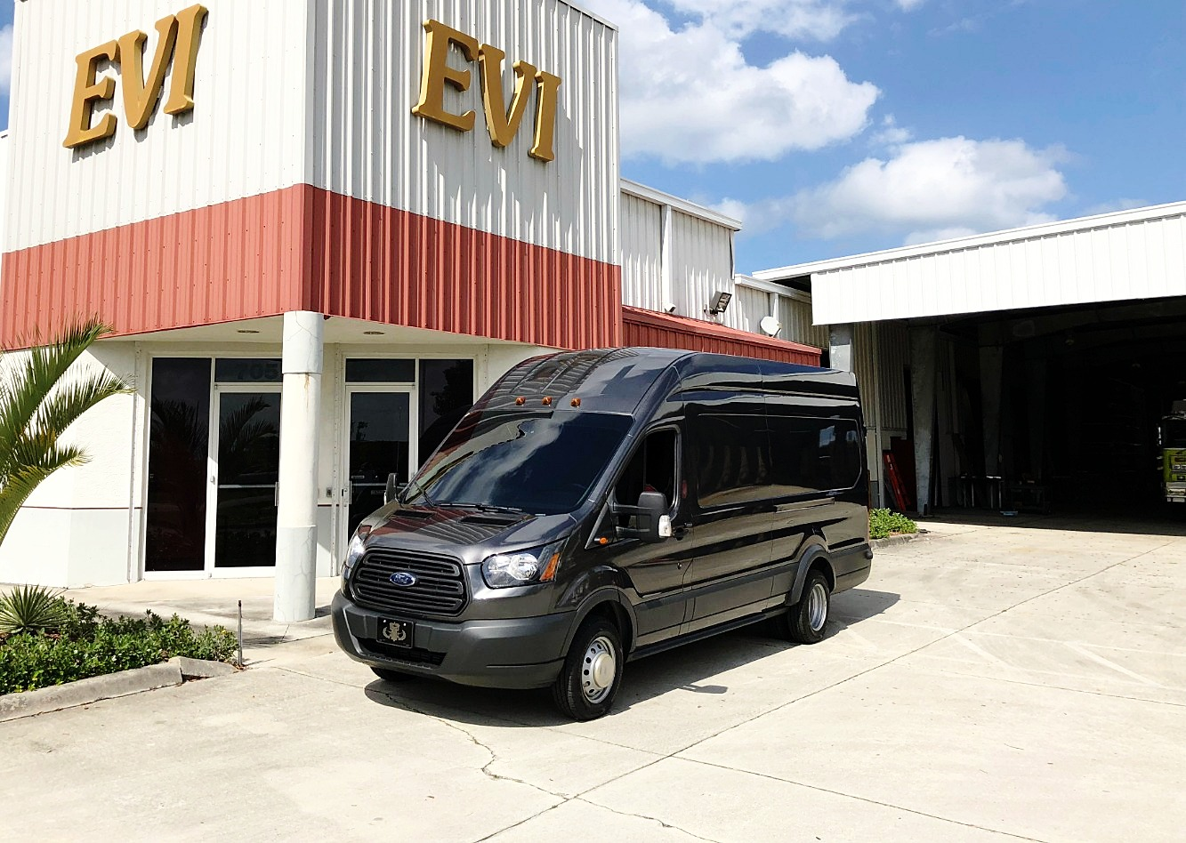 EVI custom EOD Bomb Van Conversion