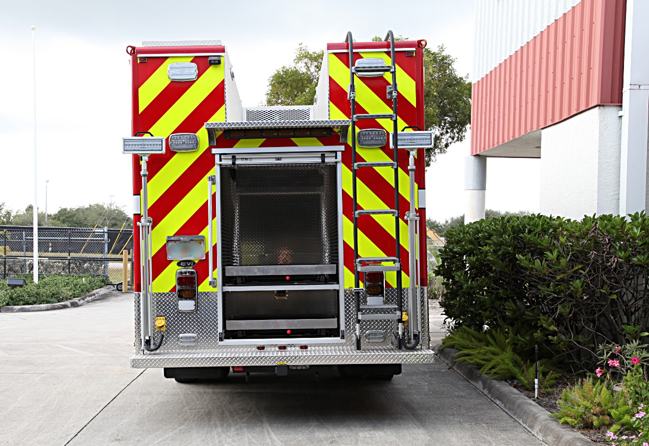 20-Ft. Crew Body Fire Rescue Truck