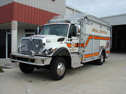 17-Ft. Walk-In Dive Rescue Unit