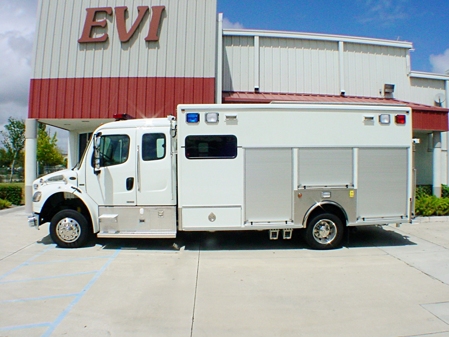 EVI 16-Ft. Crew Body Haz-Mat