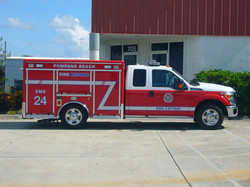 EVI EMS Captain Support Vehicle