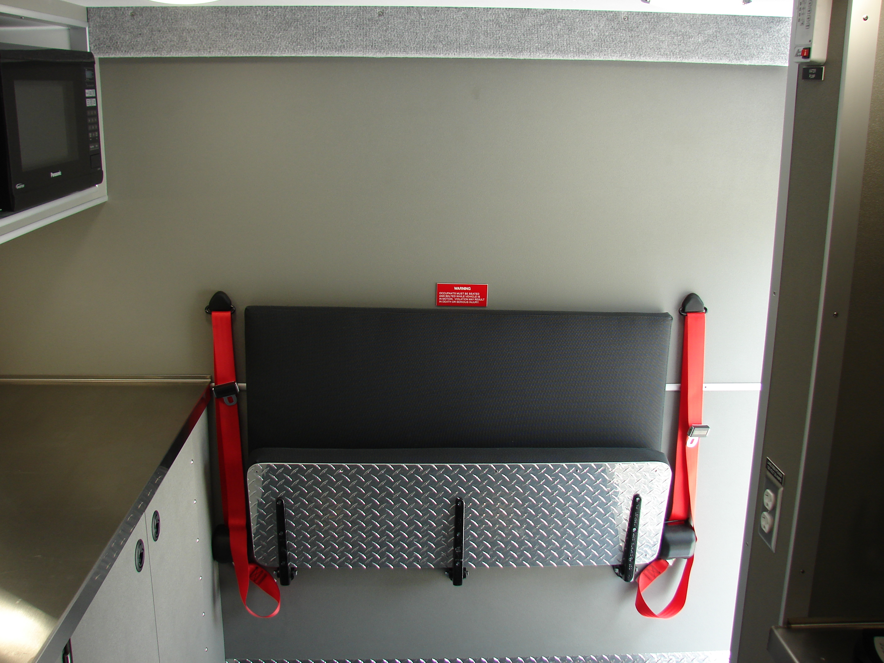 18-Ft. Crew Body Canteen/Rehab Unit