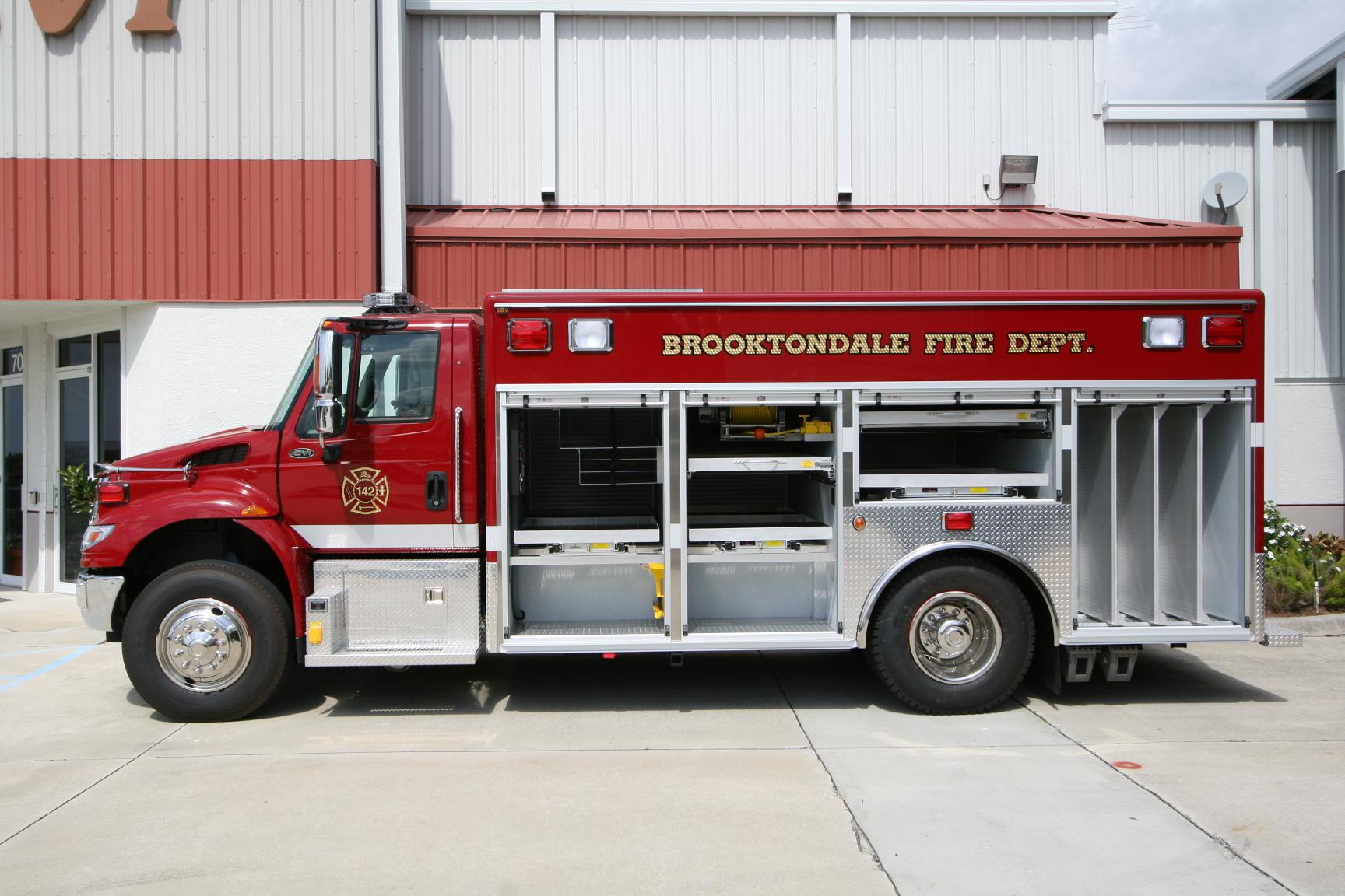 16-Ft. Non-Walk-In Rescue Squad
