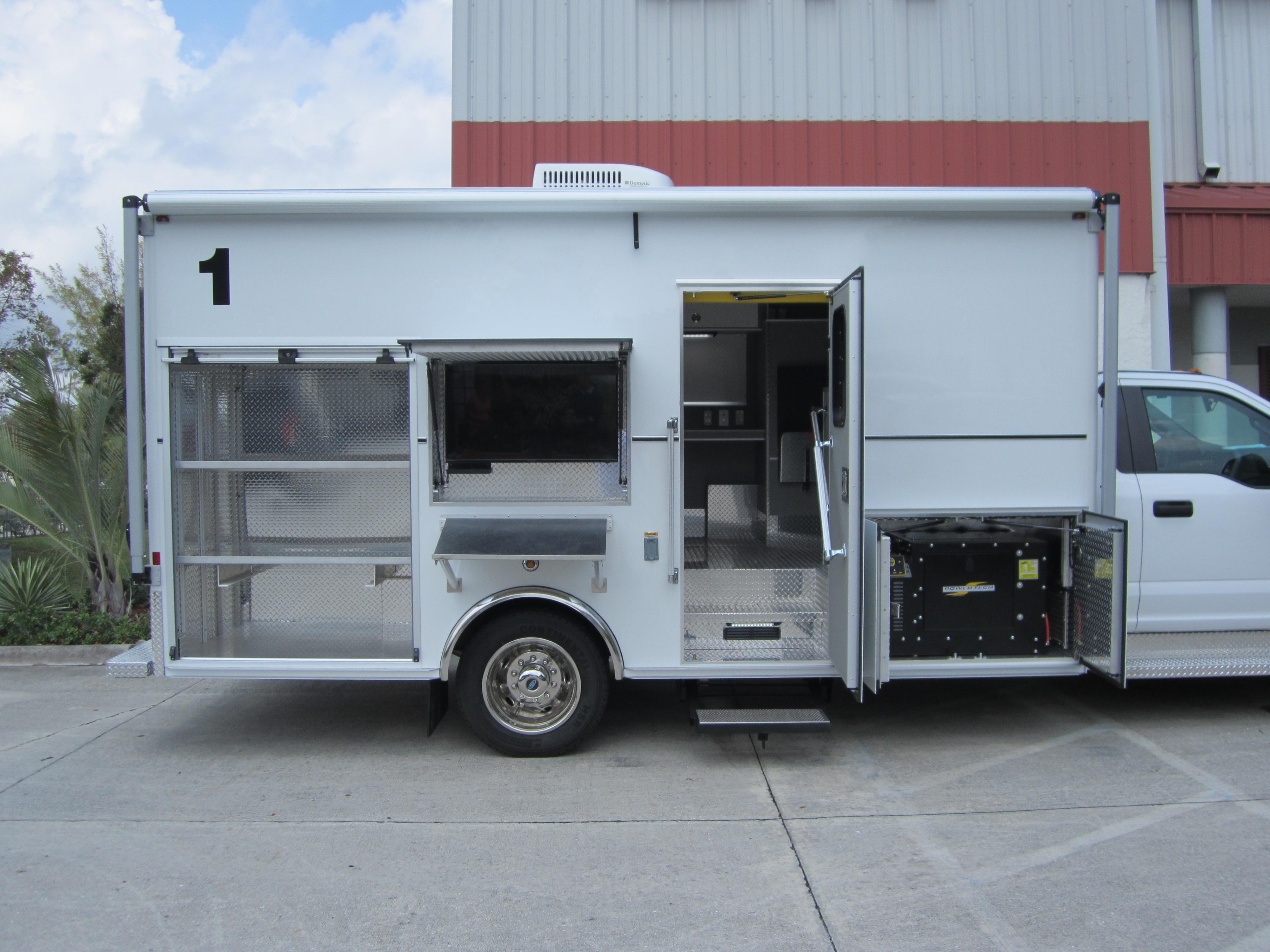 16 Foot Bomb Response Truck