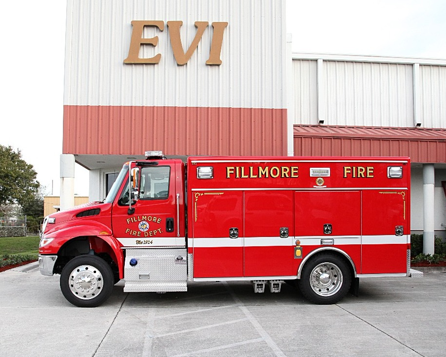 EVI Medium Rescue Squad Truck