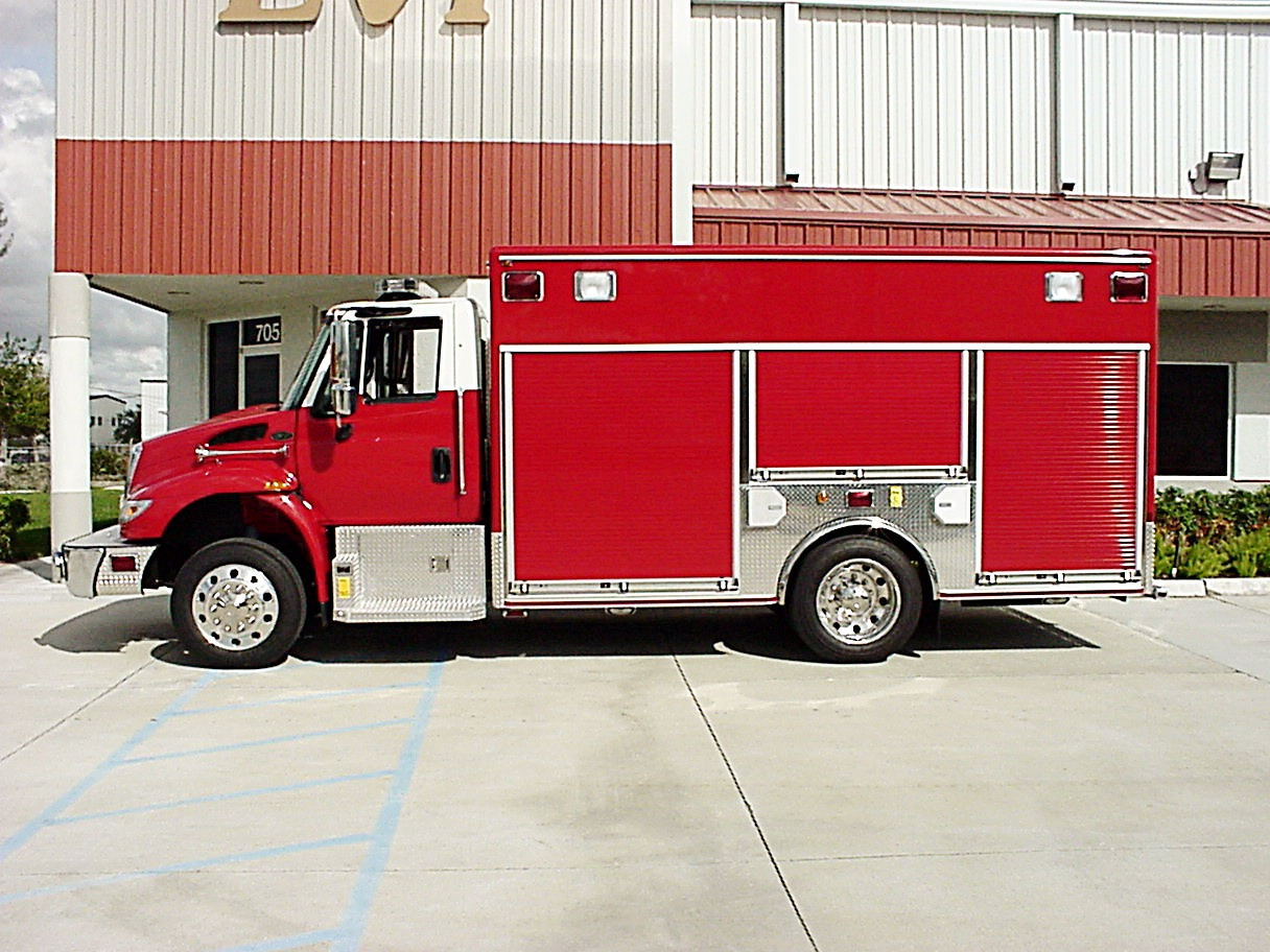 EVI 15-Ft Medium Duty Walk-In Rescue