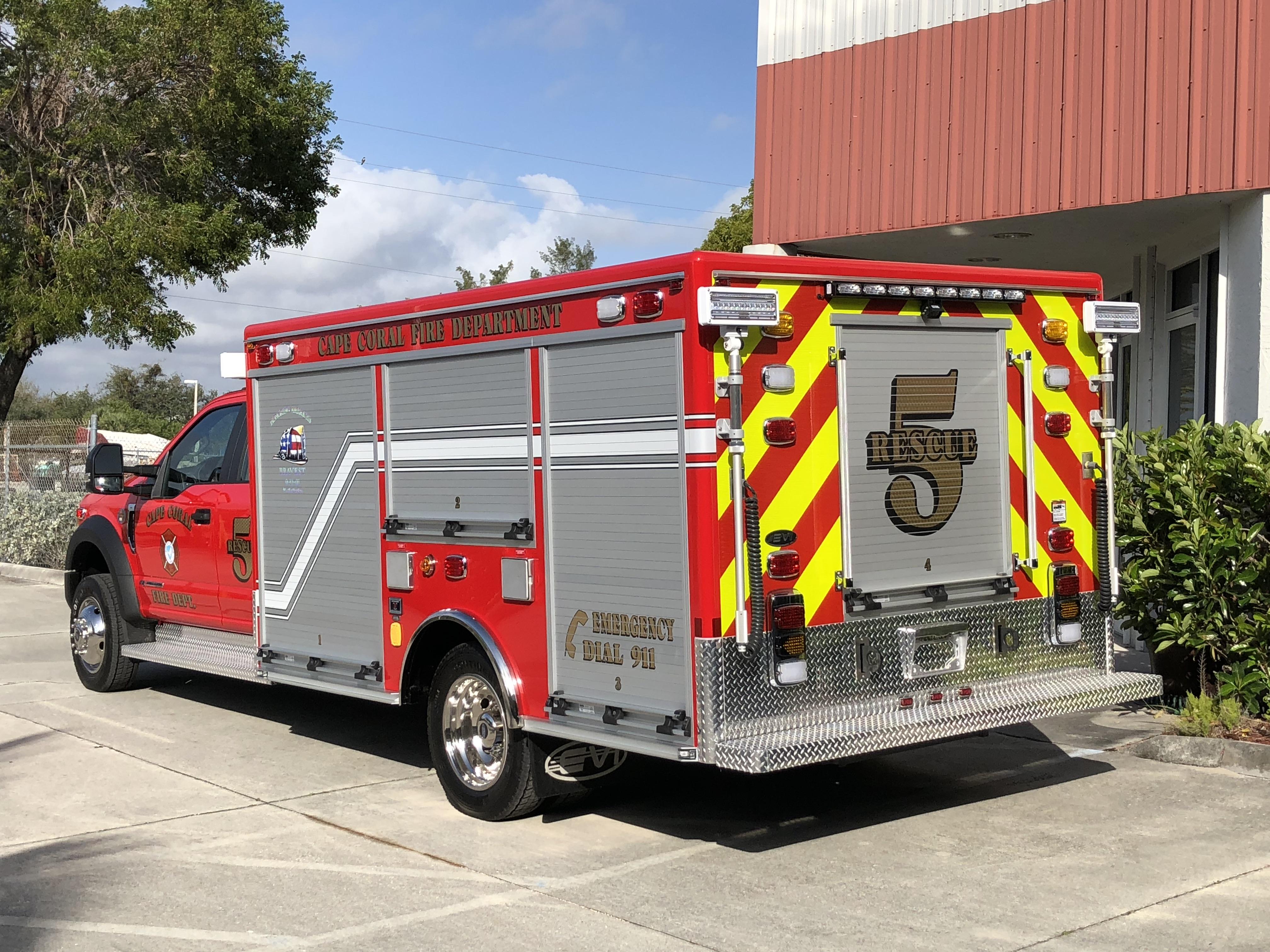 EVI 12 Ft Light Rescue Fire Truck