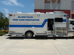 24-Ft. Crime Scene Investigation