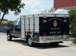 10-Ft. K-9 Bomb Detection Truck