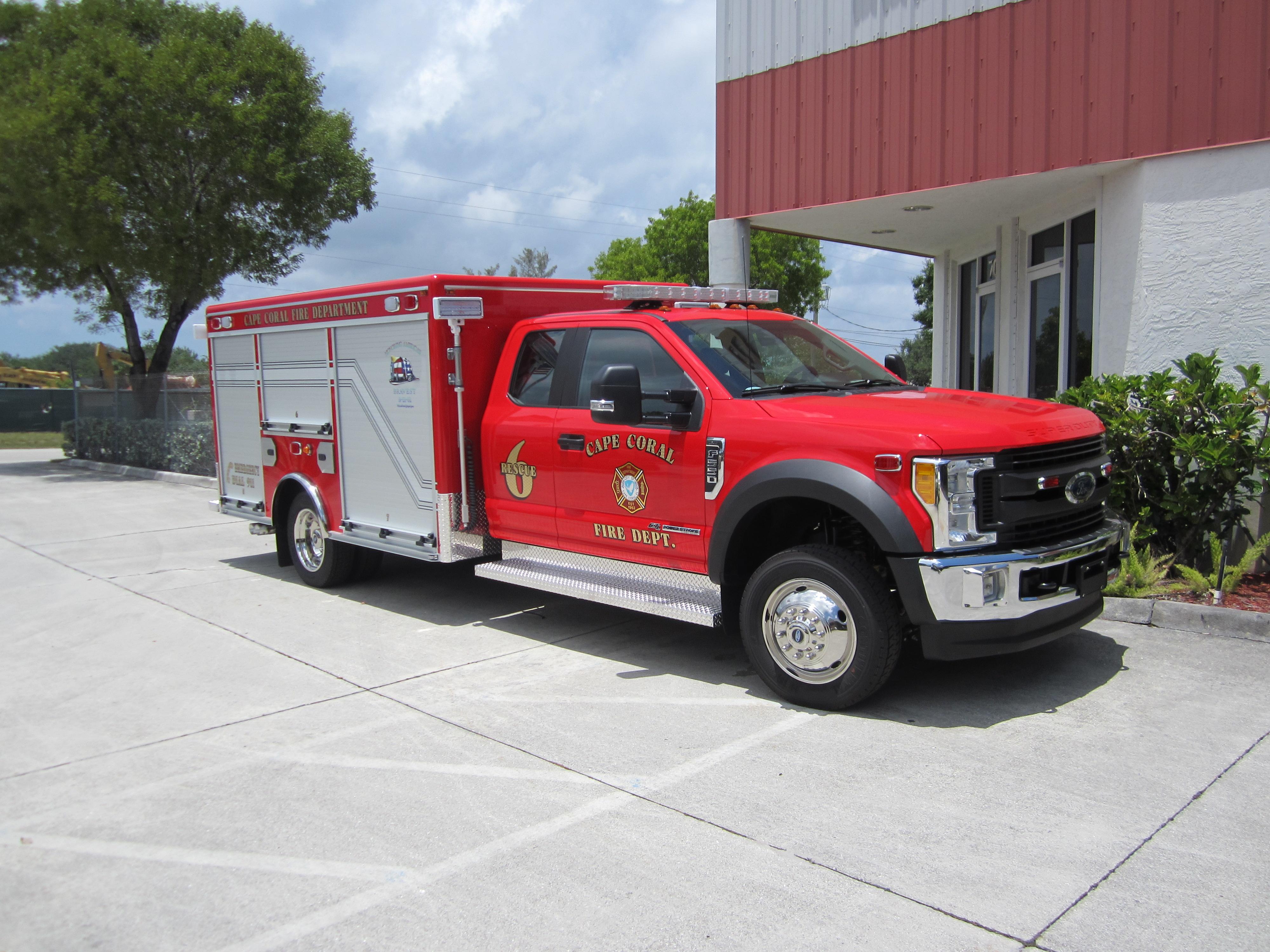 12-Ft. Non-Walk-In Light Duty Rescue