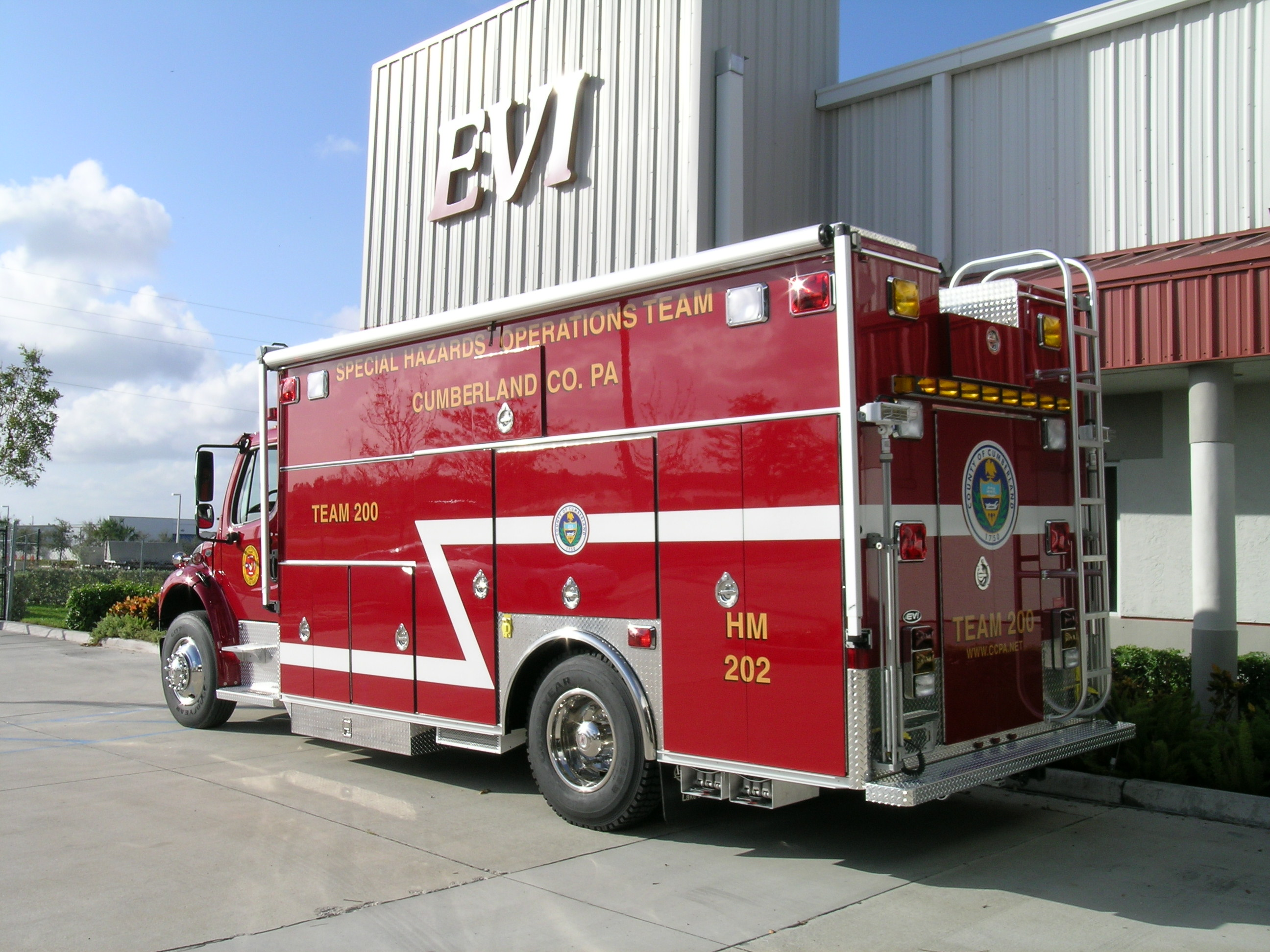 18-Ft. Crew Body Haz-Mat Response