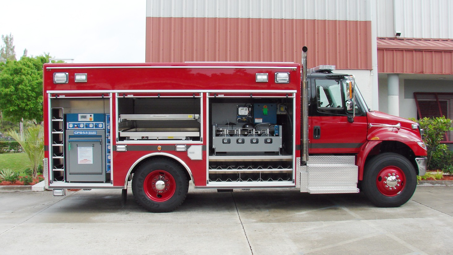 15-Ft. Non-Walk-In Fire Rescue