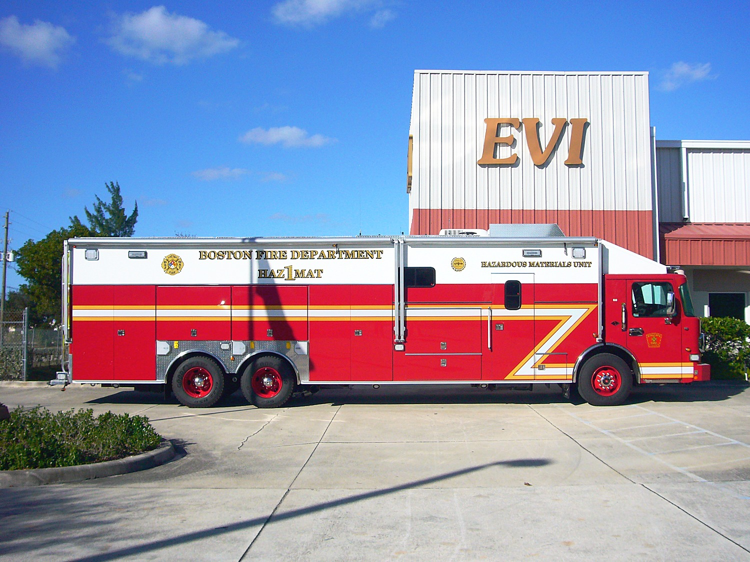 EVI 34-Ft. Crew Body CBRNE Vehicle