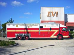 EVI 34-Ft. Crew Body CBRNE Vehicle