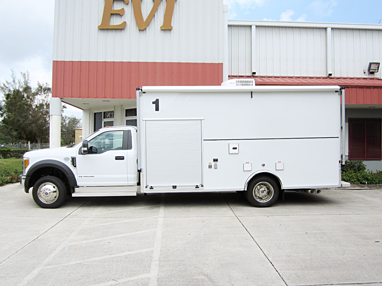 EVI custom Bomb Response Truck