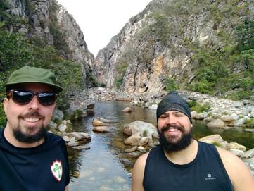 Parque Nacional Serra do Cipó em um final de semana.