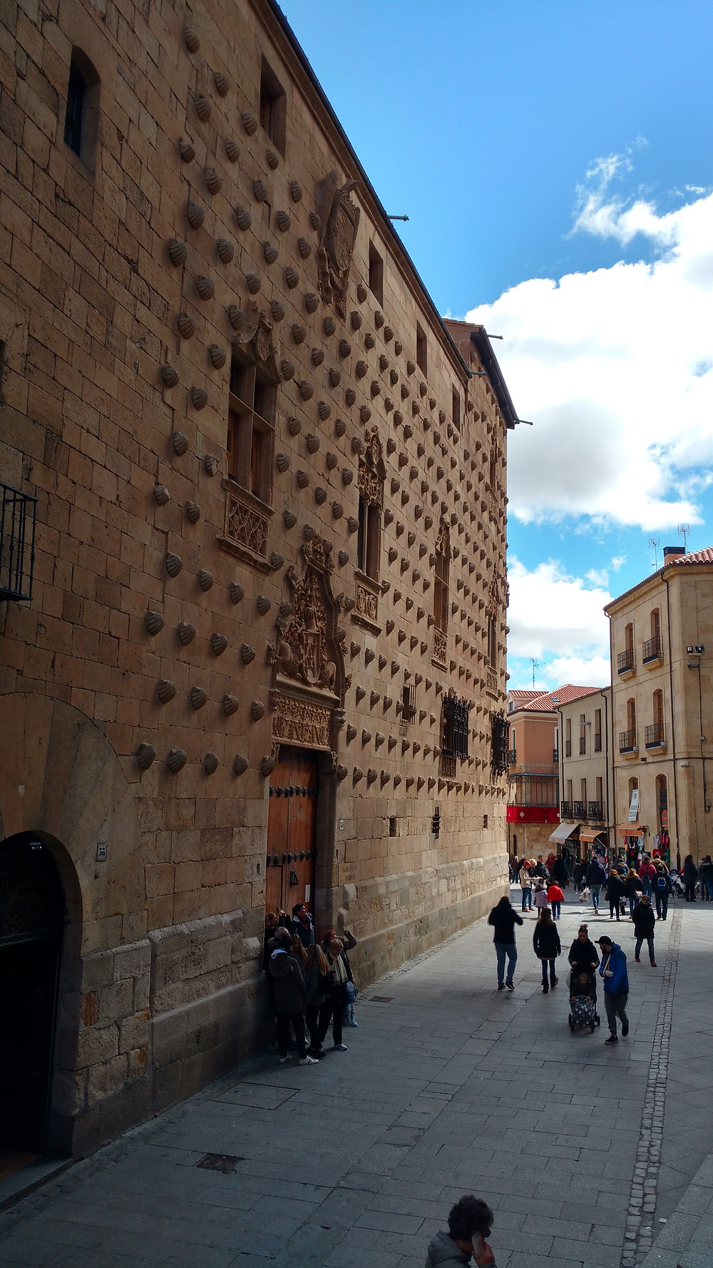 Casa das Conchas em Salamanca