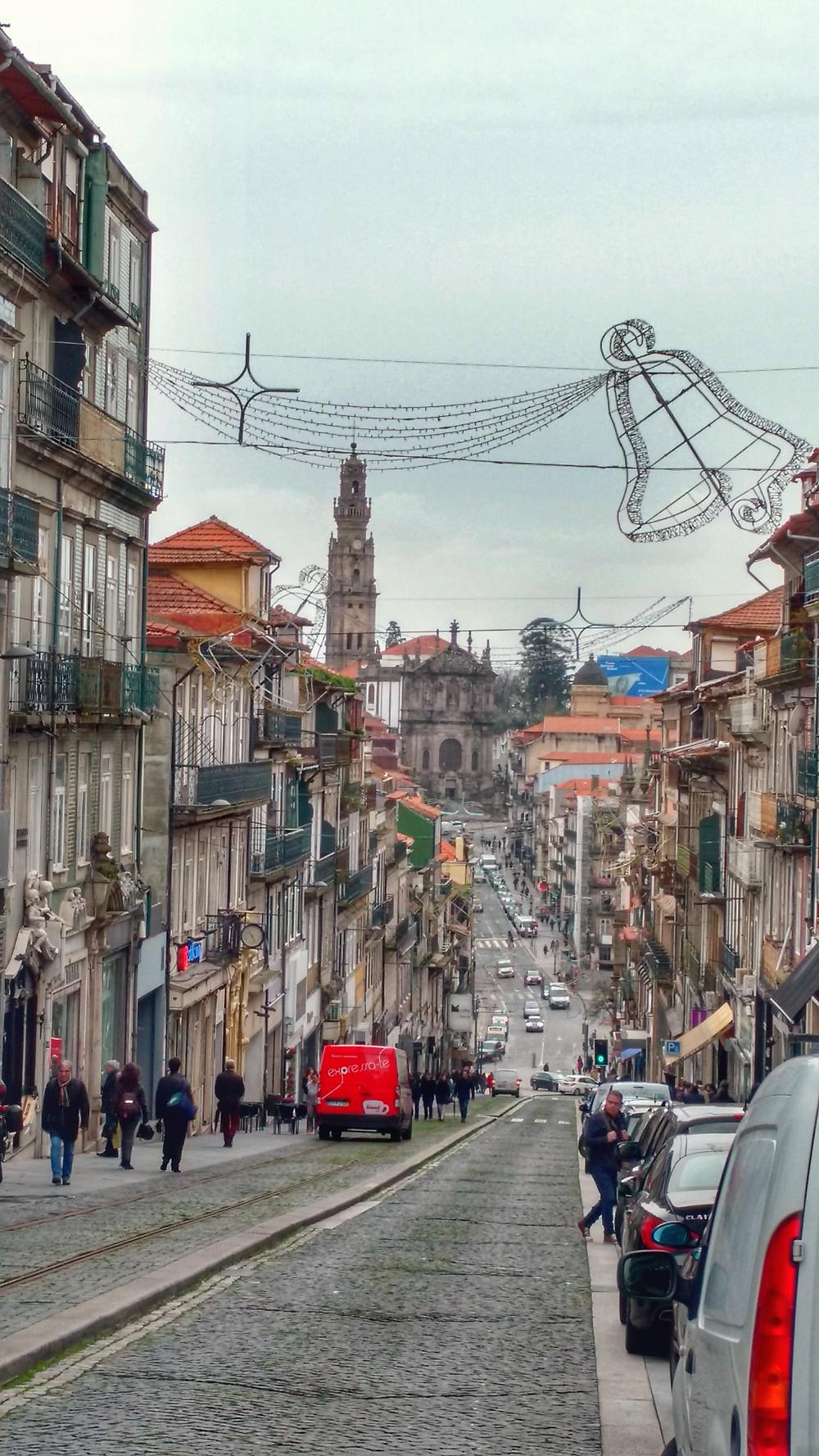Centro da cidade do Porto