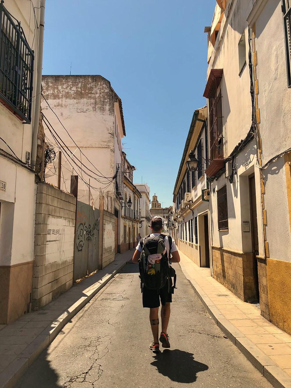 Chegando em Córdoba