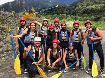 Rafting em Baños - Adrenalina pura