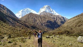 Descobri que fazer trekking é praticamente uma técnica de meditação.