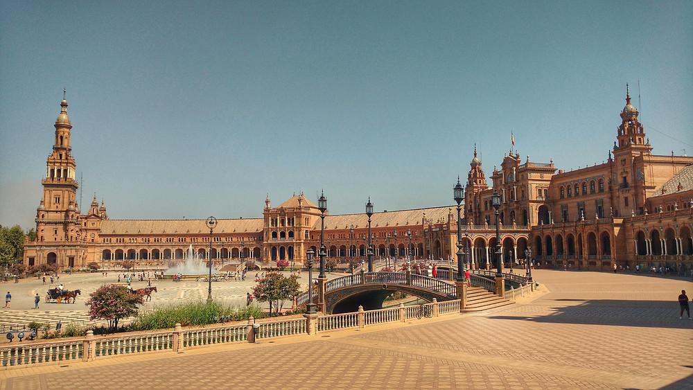 Praça da Espanha Sevilla