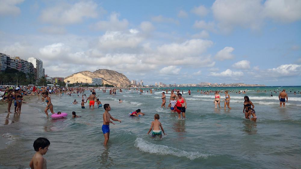 Praia em Alicante