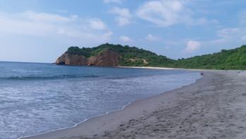 Parque Nacional Machalilla: Praia de Los Fraires