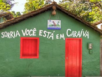 Caraíva, o paraíso baiano.