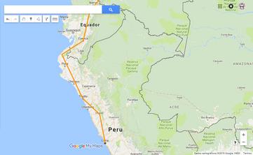 Planejamento: Norte do Peru - Parte I